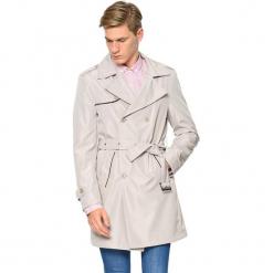 Płaszcz w kolorze beżowym. Brązowe płaszcze na zamek męskie AVVA, Dewberry, m, w paski, z tkaniny. Za 489,95 zł.