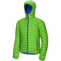 Ocun Kurtka Puchowa Tsunami Men Green/Blue M. Niebieskie kurtki sportowe męskie Ocun, m, z materiału. Za 609,00 zł.