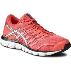 Buty ASICS - Gel-Zaraca 4 T5K8N Living Coral/Silver/Onyx. Brązowe buty sportowe damskie marki Asics, z materiału, do biegania. W wyprzedaży za 239,00 zł.