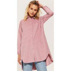 Koszula oversize - Różowy. Czerwone koszule damskie marki House, l. Za 99,99 zł.