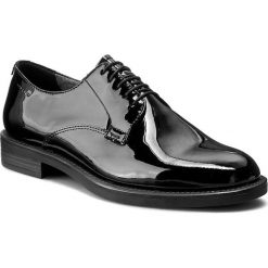 Oxfordy VAGABOND - Amina 4203-260-20 Black. Czarne jazzówki damskie marki Vagabond, z lakierowanej skóry, na obcasie. Za 419,00 zł.