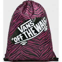 Vans - Plecak. Szare plecaki damskie marki Vans, z gumy, na sznurówki. Za 39,90 zł.