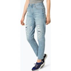 G-Star - Jeansy damskie, niebieski. Niebieskie spodnie z wysokim stanem G-Star, z jeansu. Za 619,95 zł.