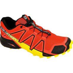 Buty sportowe męskie: Salomon  Buty męskie Speedcross 4 Red/Yellow r. 41 (381154)
