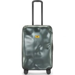 Walizka Icon średnia zielona. Szare walizki marki Crash Baggage, z materiału. Za 1040,00 zł.