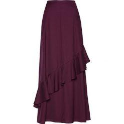 Spódnica szyfonowa bonprix czarny bez. Fioletowe spódniczki marki DOMYOS, l, z bawełny. Za 79,99 zł.