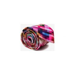 KRAWAT PIXEL. Różowe krawaty męskie marki Reserved. Za 129,00 zł.