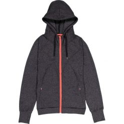 Swetry rozpinane damskie: Rozpinany sweter z kapturem