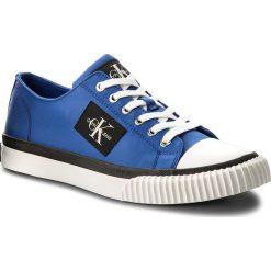 Trampki CALVIN KLEIN JEANS - Iziceio S1729 Primary Blue. Niebieskie tenisówki męskie Calvin Klein Jeans, z gumy. Za 469,00 zł.