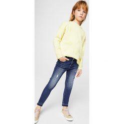 Rurki dziewczęce: Mango Kids - Jeansy dziecięce Allegra 104-164 cm