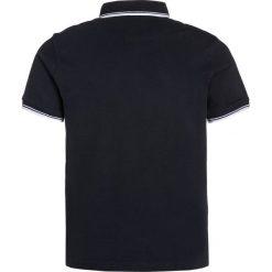 Bluzki dziewczęce bawełniane: BOSS Kidswear MANCHES COURTES Koszulka polo bleu cargo