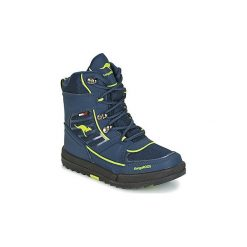Śniegowce Dziecko Kangaroos  ADRIAN II. Niebieskie buty zimowe chłopięce marki KangaROOS. Za 231,20 zł.