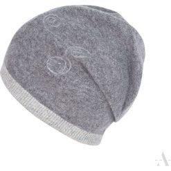 Czapka damska Poplątana szara. Czarne czapki zimowe damskie marki BIG STAR, z gumy. Za 61,09 zł.