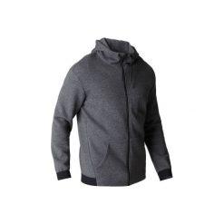 Bluza na zamek z kapturem Gym & Pilates 560 męska. Czarne bluzy męskie rozpinane marki Reserved, l, z kapturem. Za 129,99 zł.