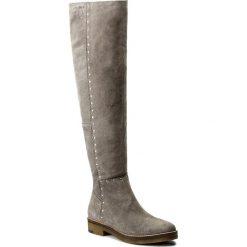Muszkieterki EVA MINGE - Yesenia 2G 17SM1372215EF 809. Szare buty zimowe damskie Eva Minge, ze skóry, na obcasie. W wyprzedaży za 319,00 zł.