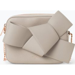 Ted Baker - Damska torebka na ramię – Aamelia, beżowy. Czarne torebki klasyczne damskie marki Ted Baker, z materiału. Za 719,95 zł.