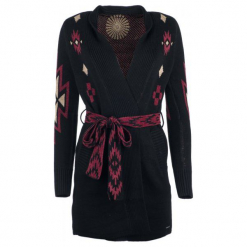 Desigual Sweter Damski Mali S, Czarny. Szare swetry klasyczne damskie marki Desigual, l, z tkaniny, casualowe, z długim rękawem. Za 599,00 zł.