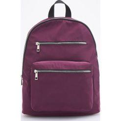 Plecak - Fioletowy. Fioletowe plecaki damskie Reserved. W wyprzedaży za 79,99 zł.