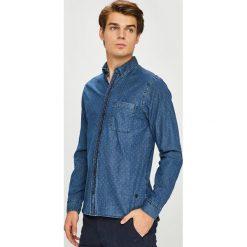 Casual Friday - Koszula. Szare koszule męskie jeansowe marki Casual Friday, l, button down, z długim rękawem. W wyprzedaży za 199,90 zł.