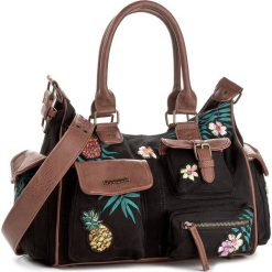 Torebka DESIGUAL - 18SAXFAO 2000. Szare torebki klasyczne damskie marki Desigual, l, z tkaniny, casualowe, z długim rękawem. W wyprzedaży za 259,00 zł.