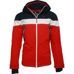Kurtka narciarska w kolorze czerwonym. Czerwone kurtki narciarskie męskie marki Peak Mountain, m, z materiału. W wyprzedaży za 393,95 zł.