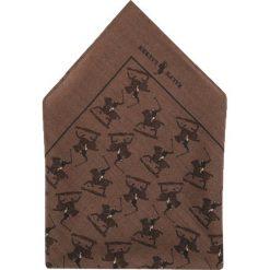 Krawaty męskie: Polo Ralph Lauren TONAL PLAYER POCKET SQUARE  Krawat taupe