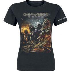 Disturbed Evolution - The Guy Koszulka damska czarny. Czarne bluzki z odkrytymi ramionami Disturbed, xl, z nadrukiem, z okrągłym kołnierzem. Za 74,90 zł.