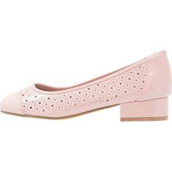 Buty ślubne damskie: Evans WIDE FIT FLEUR Czółenka pink