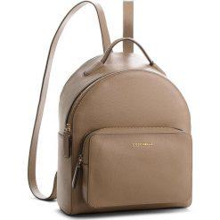 Plecak COCCINELLE - CF8 Clementine Soft E1 CF8 14 01 01 Taupe N75. Brązowe plecaki damskie marki Coccinelle, ze skóry. W wyprzedaży za 909,00 zł.