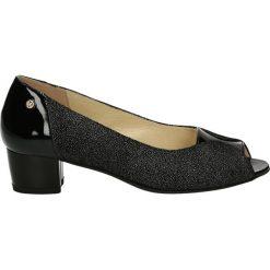 Buty ślubne damskie: Czółenka - F195 BRO NERO