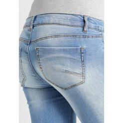 MAMALICIOUS MLBIRDIE NEW  Jeansy Slim Fit light blue denim. Niebieskie jeansy damskie MAMALICIOUS. Za 259,00 zł.