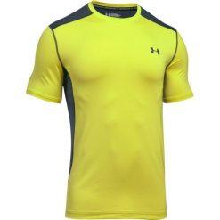 Under Armour Koszulka męska Raid Short Sleeve żółto-szara r. L (1257466-772). Szare koszulki sportowe męskie marki Under Armour, z elastanu, sportowe. Za 92,74 zł.