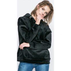 Only - Bluza Isabel. Czarne bluzy z kapturem damskie ONLY, l, z elastanu. W wyprzedaży za 79,90 zł.