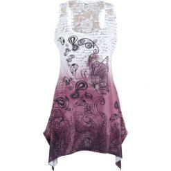 Topy damskie: Innocent Lace Panel Vest Top damski biały/różowy