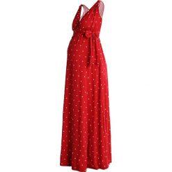 Długie sukienki: Envie de Fraise ROMAINE TANK Długa sukienka red/off white