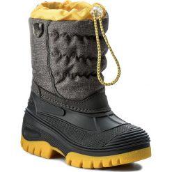 Buty zimowe chłopięce: Śniegowce CMP – Kids Hanki Mel 3Q48064MK Asphalt Mel. U874