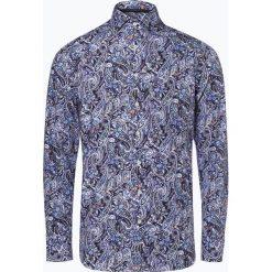 OLYMP SIGNATURE - Koszula męska – Savio, niebieski. Niebieskie koszule męskie na spinki marki OLYMP SIGNATURE, m, paisley. Za 499,95 zł.