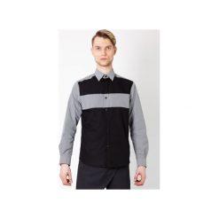 KOSZULA MĘSKA MBEP_K56. Czerwone koszule męskie na spinki marki Guns&tuxedos, m, button down. Za 160,00 zł.