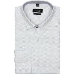 Koszula bexley 2431 długi rękaw slim fit biały. Białe koszule męskie jeansowe marki Recman, na wiosnę, m, w kropki, z klasycznym kołnierzykiem, z długim rękawem. Za 49,99 zł.