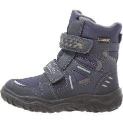 Superfit HUSKY Śniegowce ocean. Niebieskie buty zimowe chłopięce marki Superfit, z materiału. W wyprzedaży za 209,30 zł.