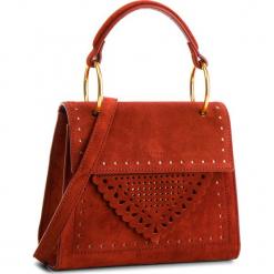 Torebka COCCINELLE - C10 B14 Lace Suede E1 C10 55 77 01 Bourgogne R00. Czerwone torebki klasyczne damskie marki Coccinelle, ze skóry. Za 1299,90 zł.