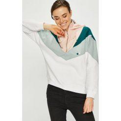 Review - Bluza. Białe bluzy męskie rozpinane marki Top Secret, bez rękawów. W wyprzedaży za 199,90 zł.