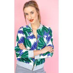 Bluzy damskie: Lekka bluza z motywem jungle