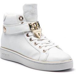 Sneakersy GUESS - FLBOG4 LEA12 WHITE. Białe sneakersy damskie Guess, z materiału. Za 579,00 zł.