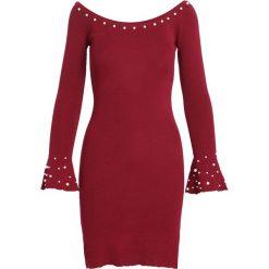 Sukienki: Bordowa Sukienka Ball Gowns