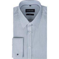 Koszula SIMONE KDWS000281. Szare koszule męskie na spinki marki House, l, z bawełny. Za 229,00 zł.