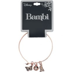 Bransoletki damskie na nogę: Bambi Thumper Wire Bangle Bransoletka złoty