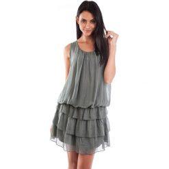 Sukienki balowe: Sukienka w kolorze khaki