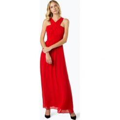 Comma - Sukienka damska, czerwony. Czerwone długie sukienki comma, eleganckie, z długim rękawem. Za 899,95 zł.