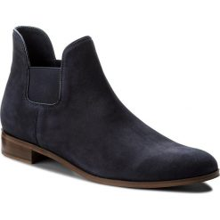 Sztyblety EVA MINGE - Mislata 3Y 18GR1372432ES 407. Niebieskie buty zimowe damskie Eva Minge, z nubiku. W wyprzedaży za 349,00 zł.